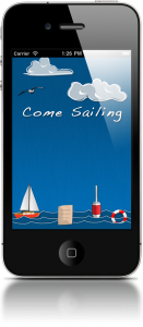Come Sailing iPhone App by NerdsGeeksGurus